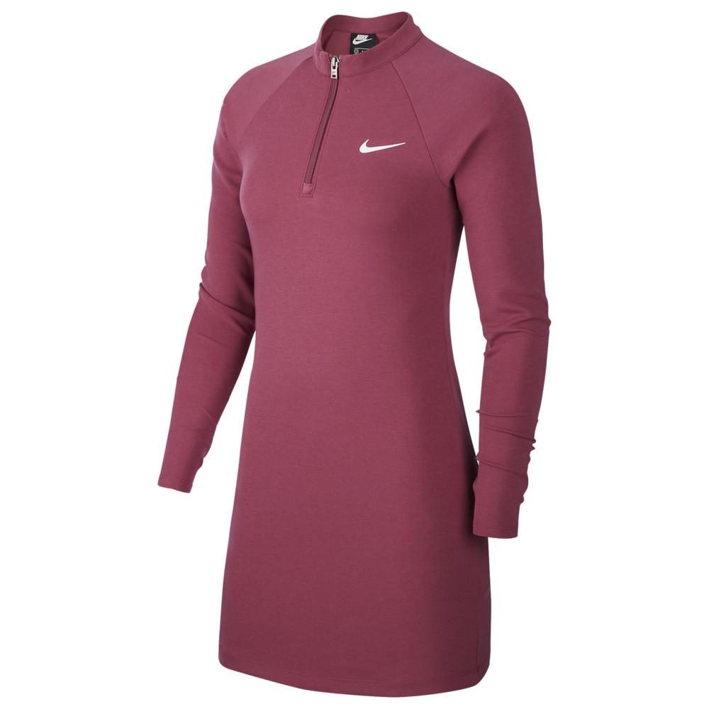 ナイキ Nike レディース ワンピース ワンピース・ドレス【Essential Dress】Mulberry Rose/White