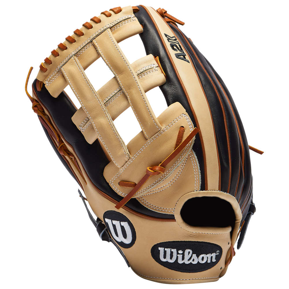 ウィルソン Wilson メンズ 野球 グローブ【A2K 1799 DP Web OB Fielders Glove】Black/Blonde