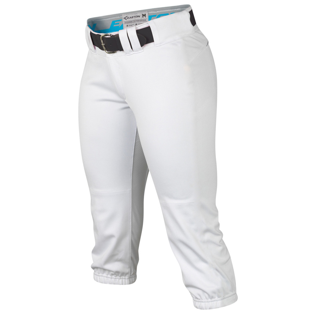 イーストン Easton レディース 野球 ボトムス・パンツ【Prowess Softball Pant】White