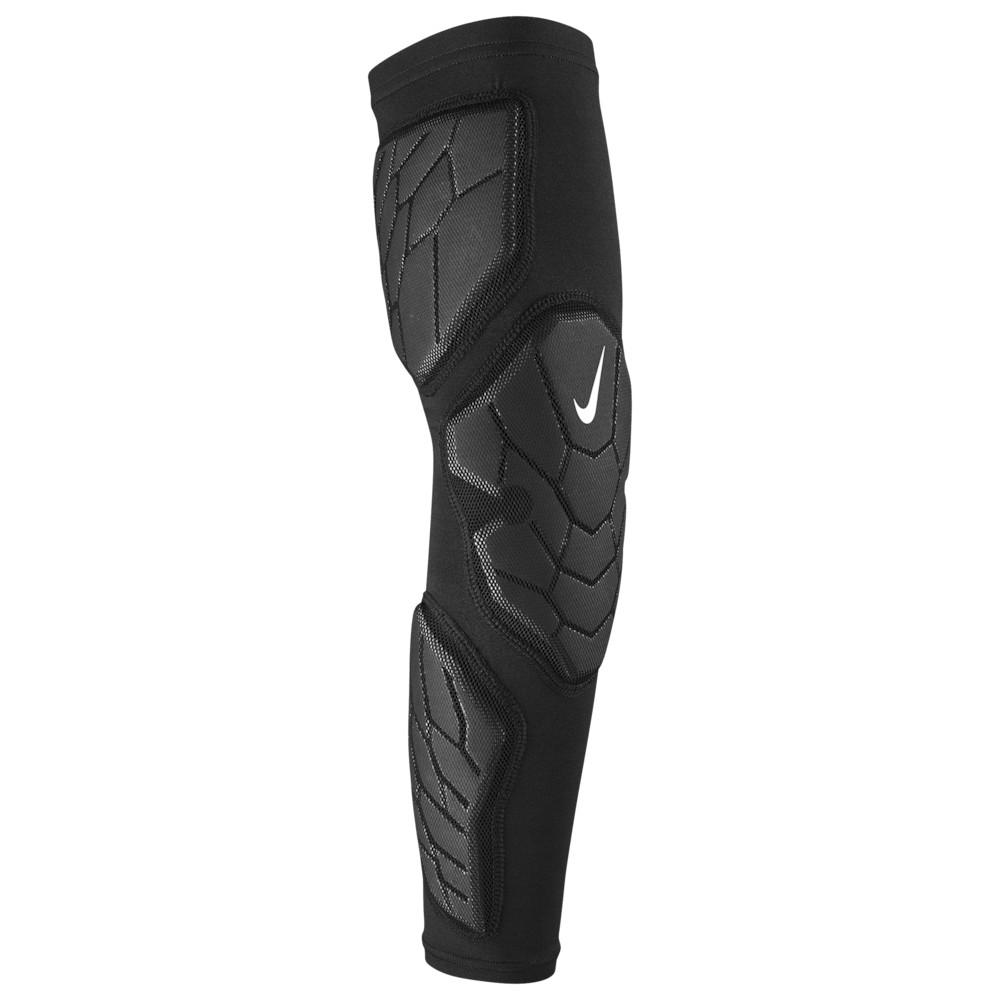 ナイキ Nike メンズ アメリカンフットボール サポーター【Pro Hyperstrong Padded Arm Sleeve 3.0】Black/Grey/White