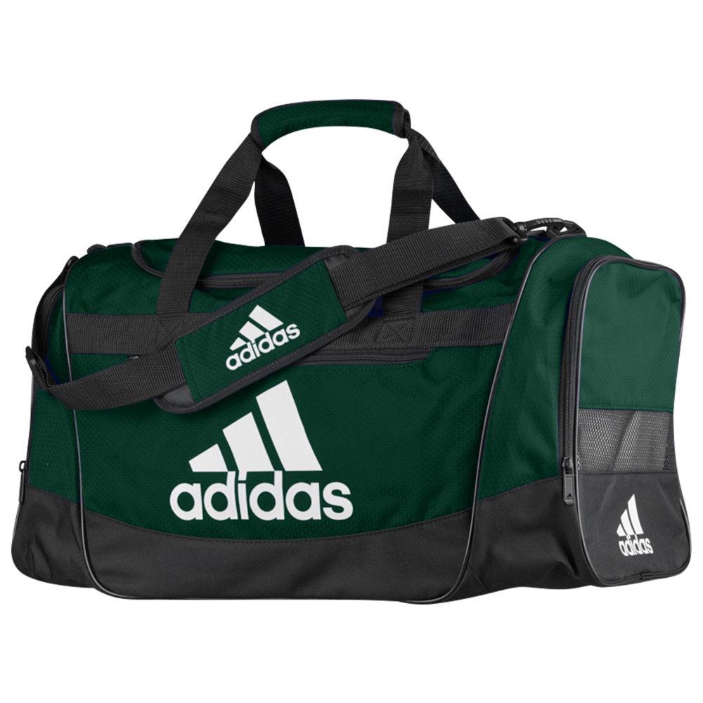 アディダス adidas ユニセックス ボストンバッグ・ダッフルバッグ バッグ【Defender III Medium Duffel】Collegiate Green/Black/White