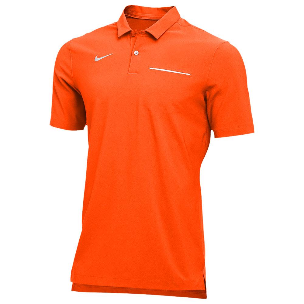 ナイキ Nike メンズ ポロシャツ トップス【Team Authentic Dry S/S Elite Polo】Team Orange/White