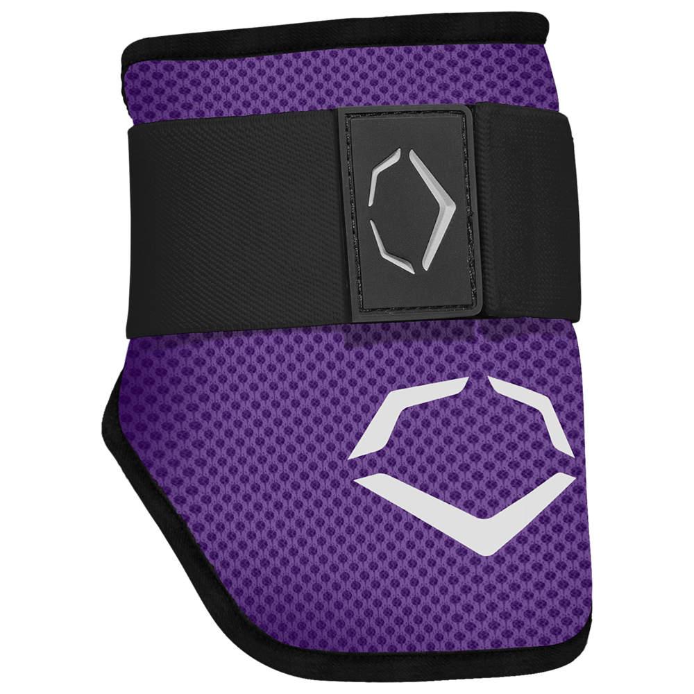 エボシールド Evoshield メンズ 野球 エルボーガード プロテクター【SRZ-1 Batter's Elbow Guard】Purple