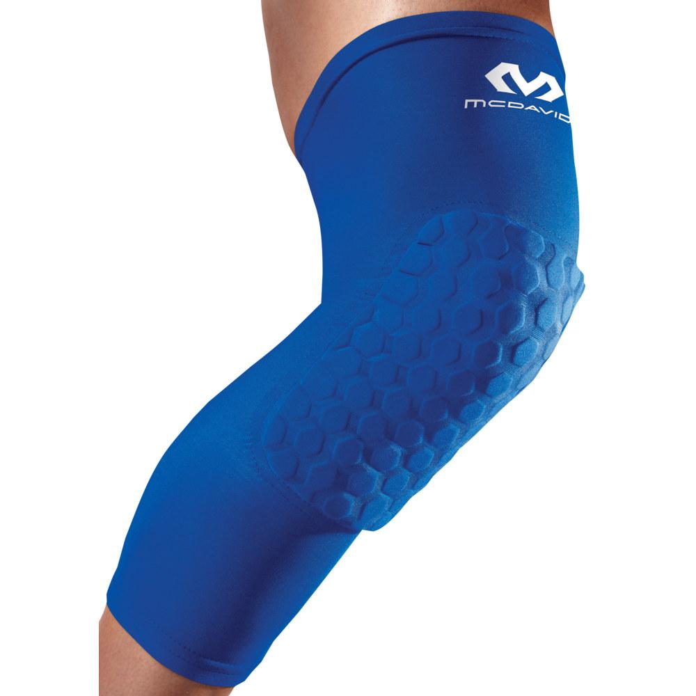 マクダビッド McDavid メンズ アメリカンフットボール サポーター【Hex Leg Sleeves】Royal