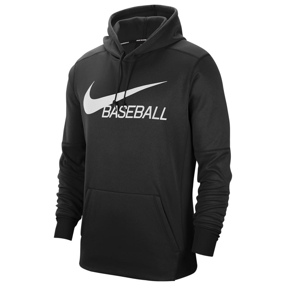 ナイキ Nike メンズ 野球 パーカー トップス【Baseball Hoodie】Black/White