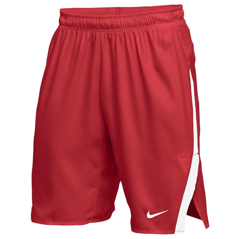 ナイキ Nike メンズ ラクロス ショートパンツ ボトムス・パンツ【Team Untouchable Speed Shorts】Scarlet/White