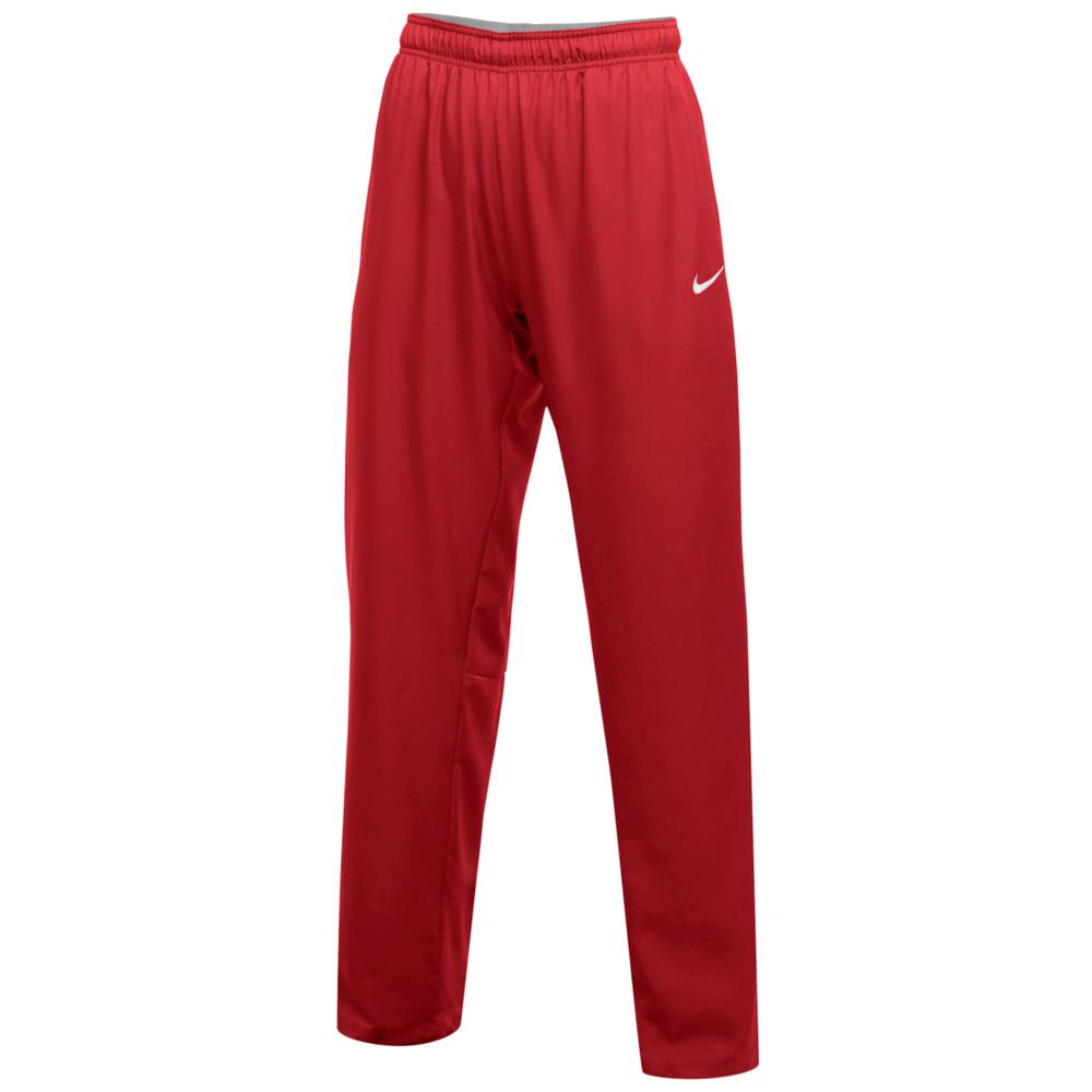 ナイキ Nike レディース フィットネス・トレーニング ボトムス・パンツ【Team Dry Pants】Scarlet/White