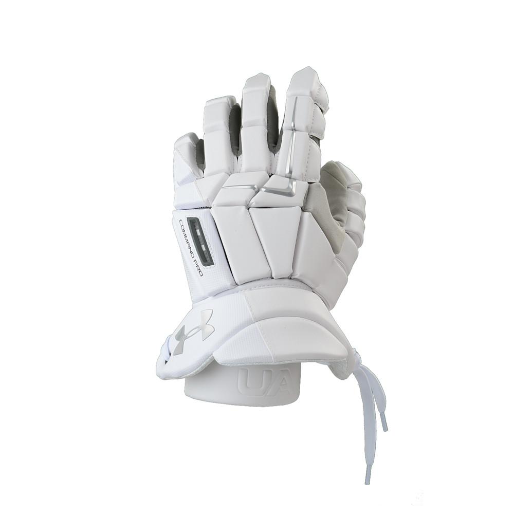 アンダーアーマー Under Armour メンズ ラクロス グローブ【Command Pro 3 Glove】White