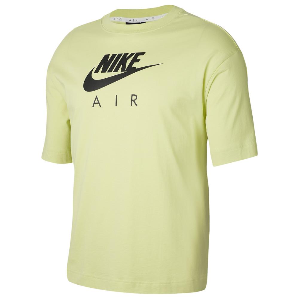 ナイキ Nike レディース Tシャツ トップス【Boyfriend Air Short Sleeve T-Shirt】Limelight