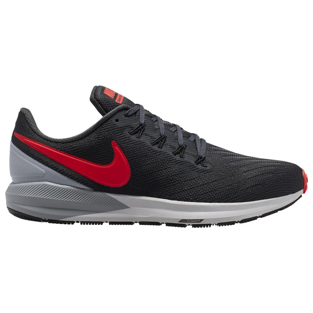 ナイキ Nike メンズ ランニング・ウォーキング シューズ・靴【Air Zoom Structure 22】Anthracite/Bright Crimson/Wolf Grey/Black