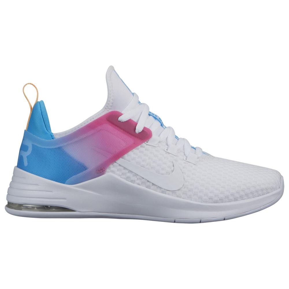 ナイキ Nike レディース フィットネス・トレーニング シューズ・靴【Air Bella TR 2】White/Blue Fury/Laser Fuschia