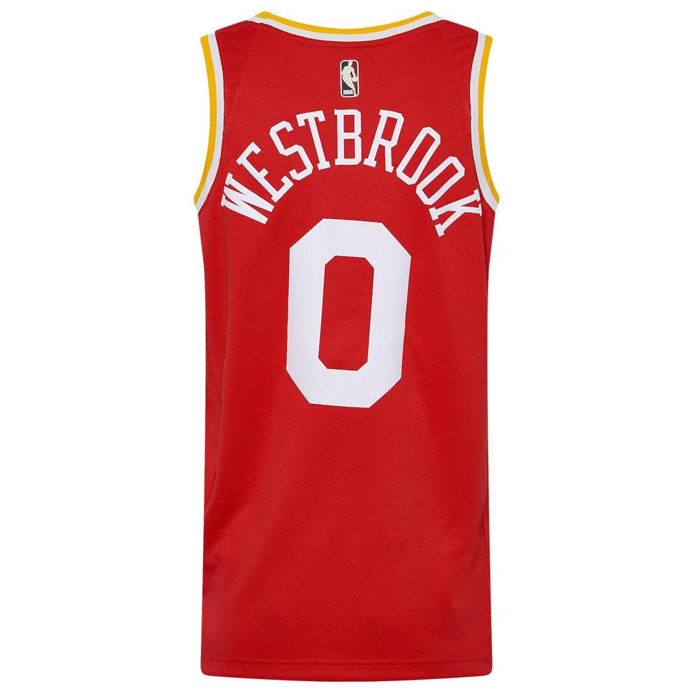 ナイキ Nike メンズ バスケットボール トップス【NBA Hardwood Classic Swingman Jersey】NBA/Houston Rockets/Russell Westbrook/University Red