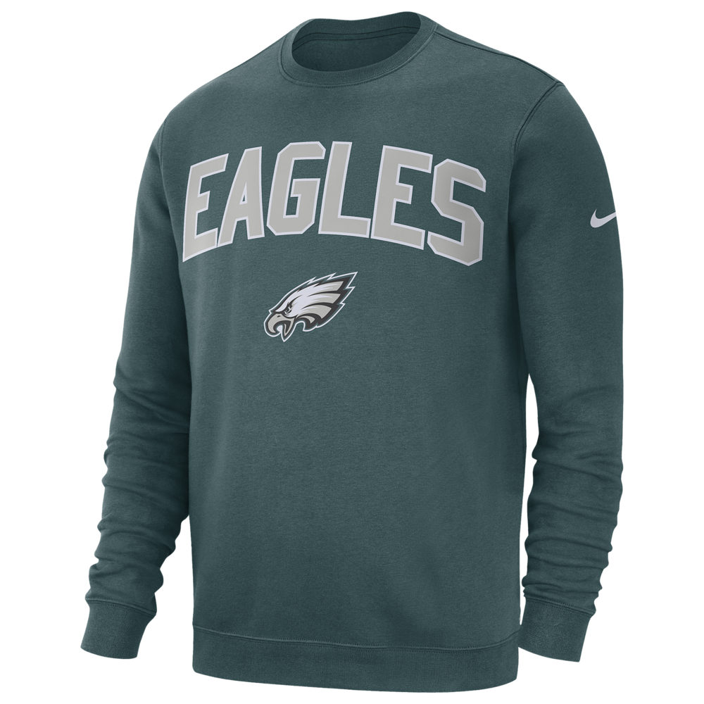 ナイキ Nike メンズ フリース トップス【NFL Club Fleece Crew Pullover】NFL/Philadelphia Eagles/Sport Teal