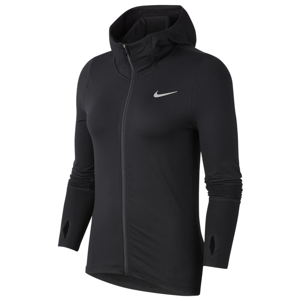 ナイキ Nike レディース フィットネス・トレーニング パーカー トップス【Element Full-Zip Hoodie】Black