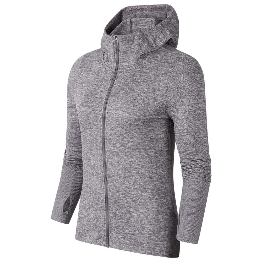 ナイキ Nike レディース フィットネス・トレーニング パーカー トップス【Element Full-Zip Hoodie】Gunsmoke/Atmosphere Grey/Heather