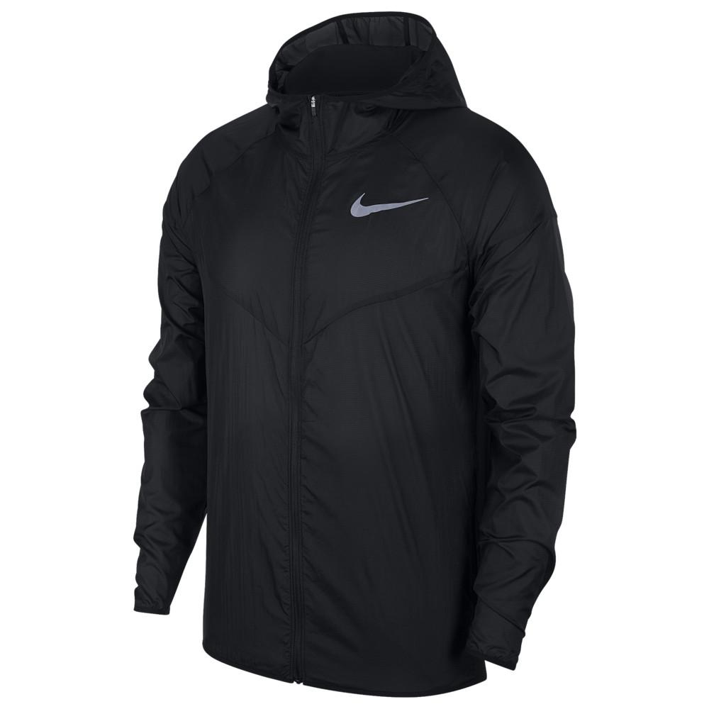 ナイキ Nike メンズ ランニング・ウォーキング アウター【Windrunner】Black/Black/Black