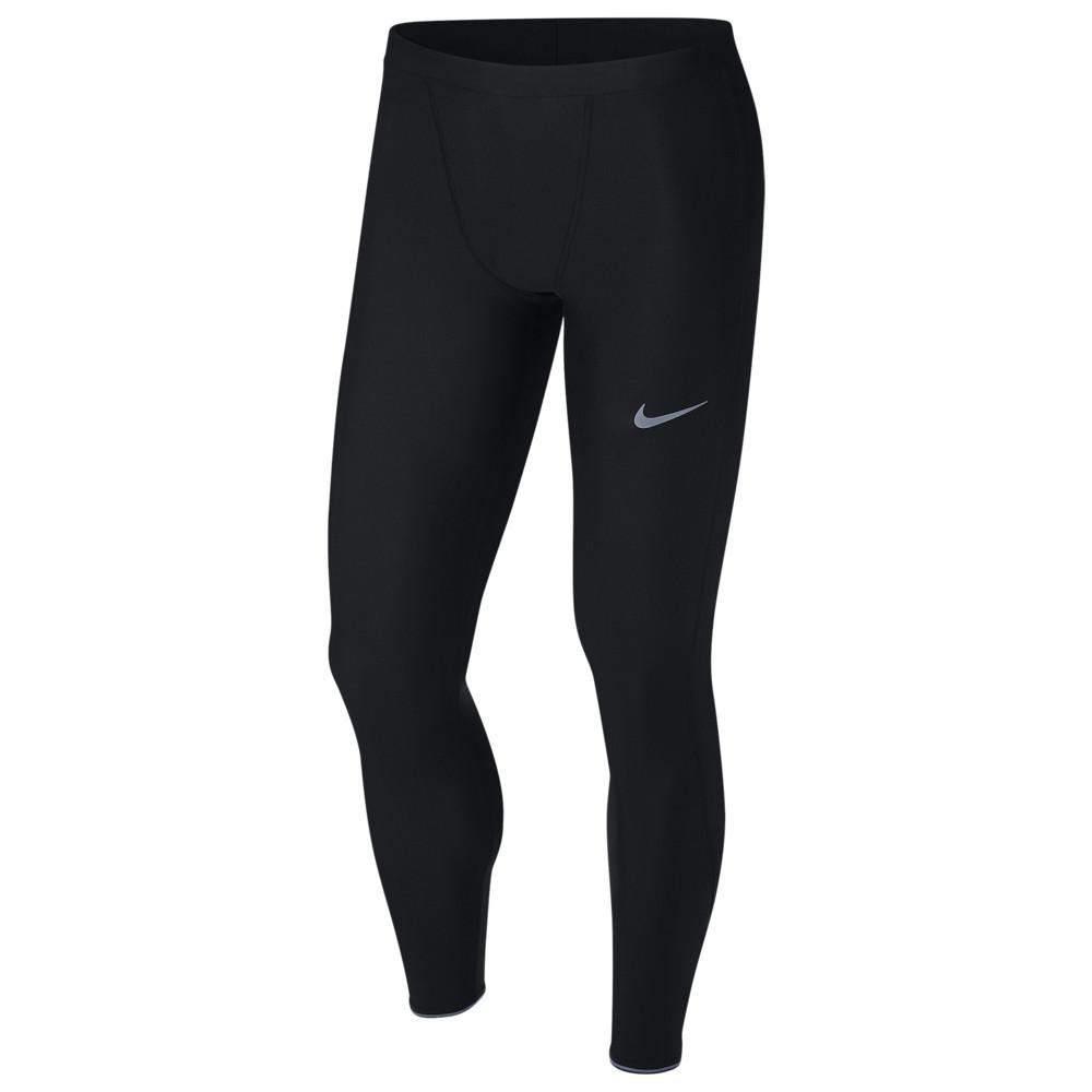ナイキ Nike メンズ ランニング・ウォーキング タイツ・スパッツ ボトムス・パンツ【Run Mobility Tights】Black/Reflective Silver