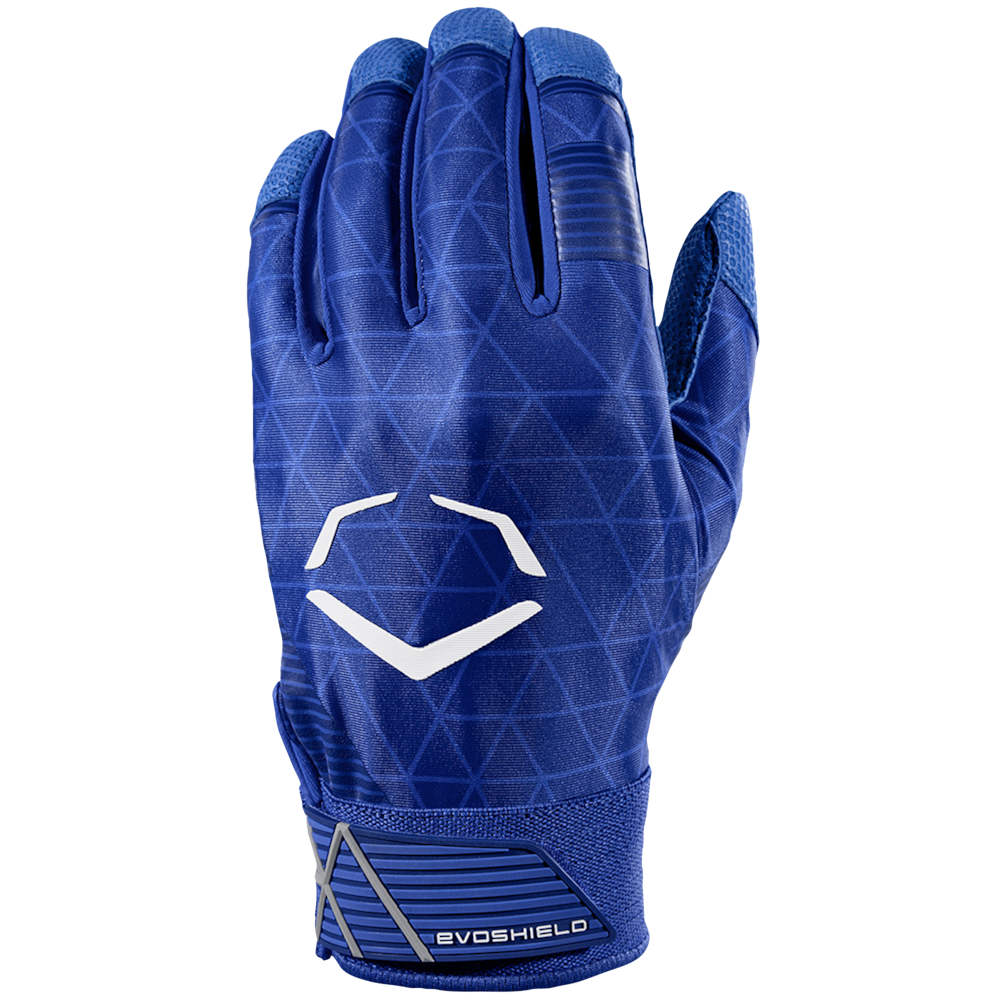 エボシールド Evoshield メンズ 野球 バッティンググローブ グローブ【Evocharge Batting Gloves】Royal