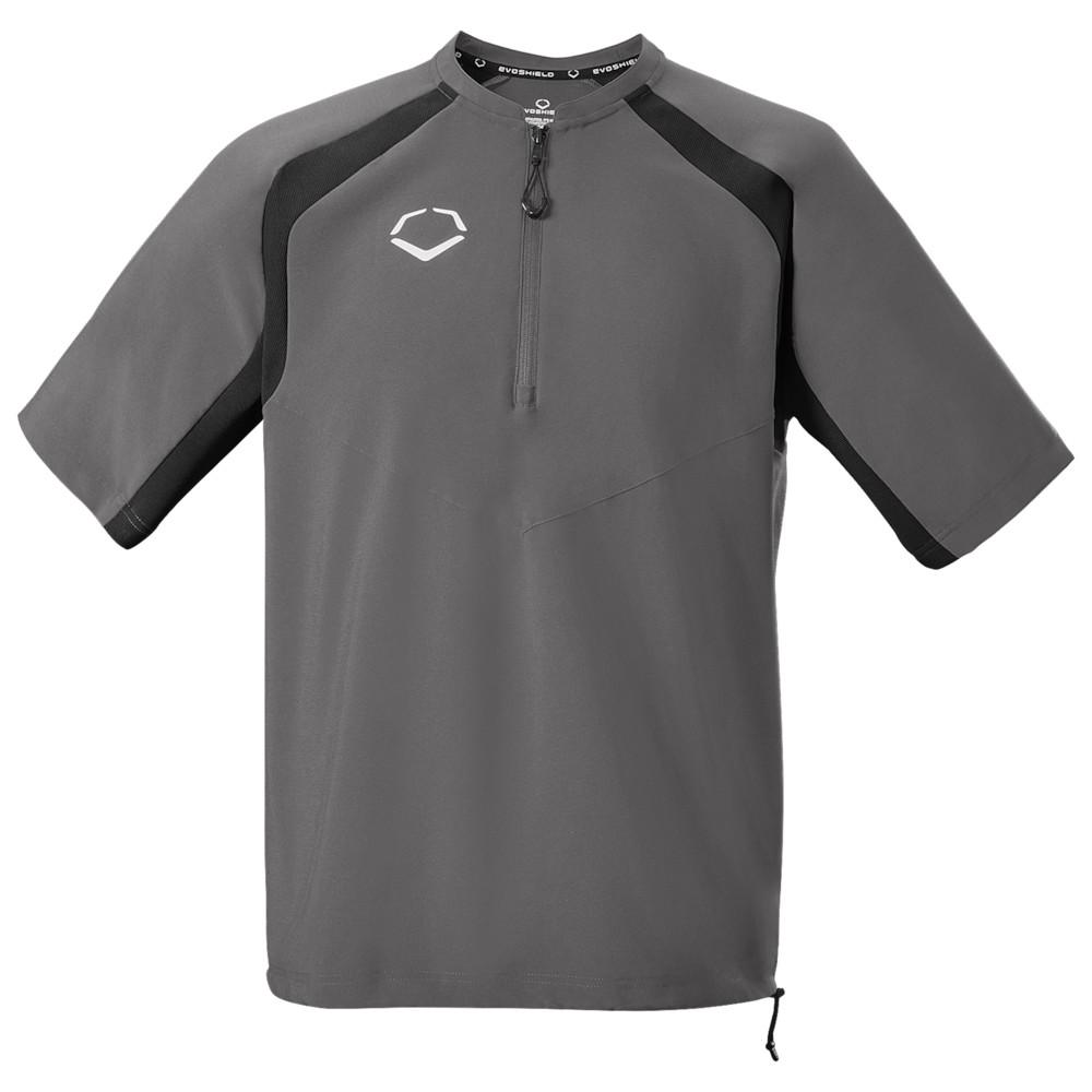 エボシールド Evoshield メンズ 野球 ジャケット アウター【Pro Team BP Jacket】Charcoal