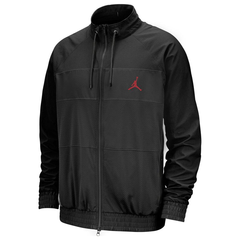 ナイキ ジョーダン Jordan メンズ ジャケット アウター【Wings Suit Jacket】Black/Gym Red
