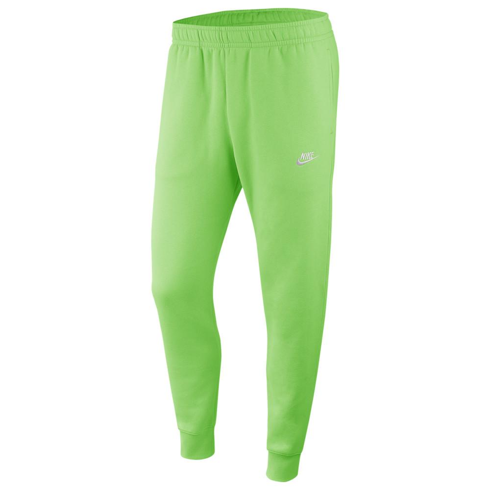 ナイキ Nike メンズ ジョガーパンツ ボトムス・パンツ【Club Joggers】Green Nebula/White