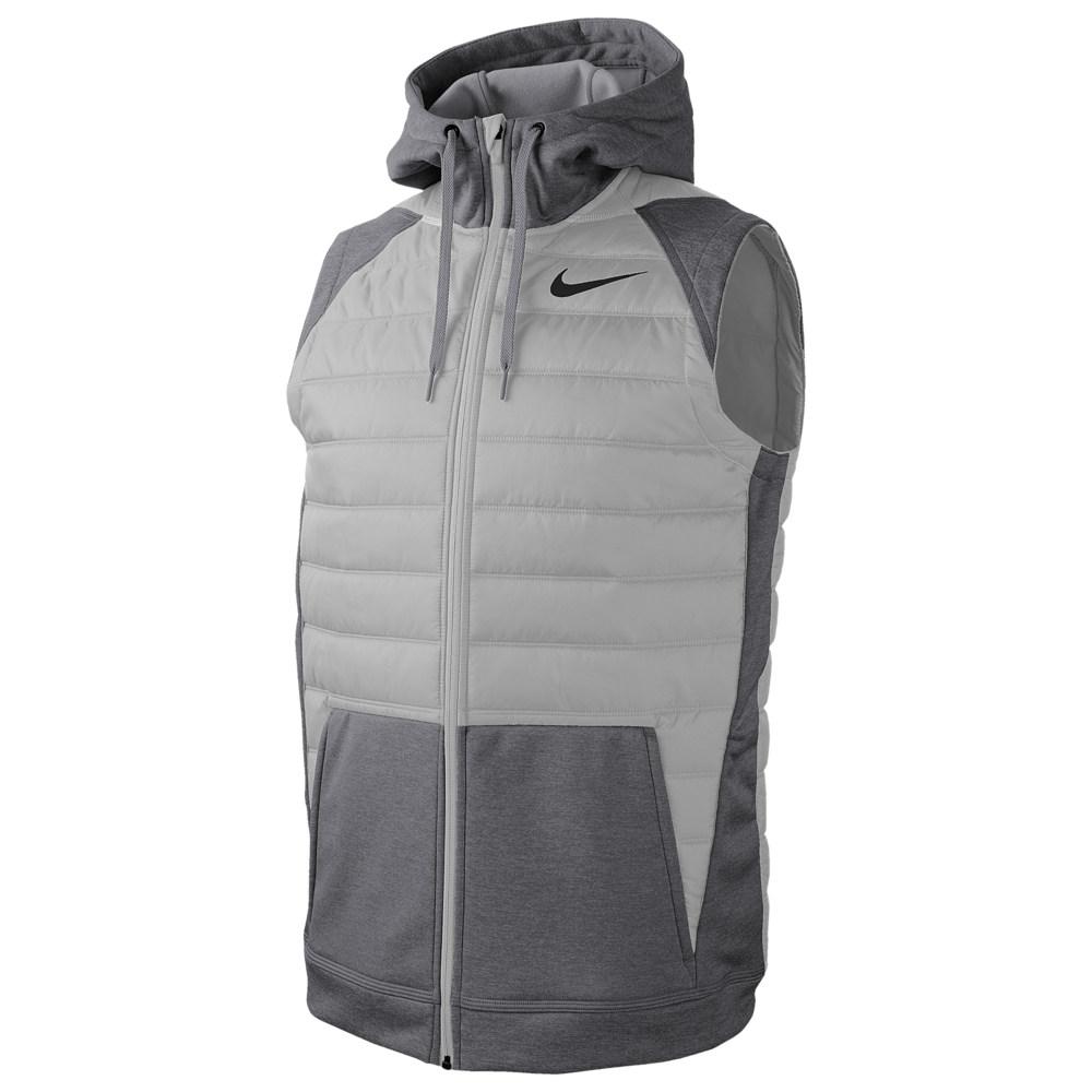 ナイキ Nike メンズ フィットネス・トレーニング ベスト・ジレ トップス【Therma F/Z Winterized Vest】Dark Grey Heather/Lt Smoke Grey