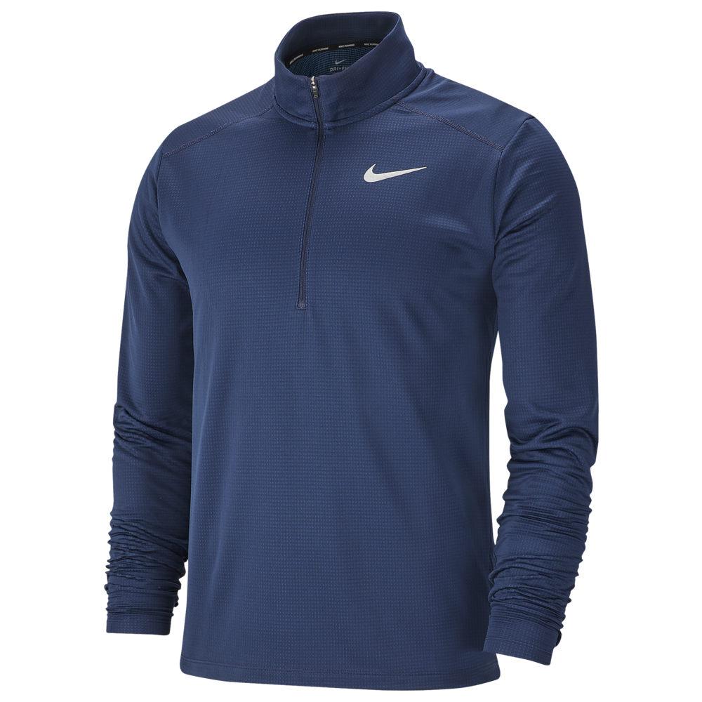ナイキ Nike メンズ ランニング・ウォーキング ハーフジップ トップス【Pacer 1/2 Zip Top】Obsidian/Indigo Force/Reflective Silver
