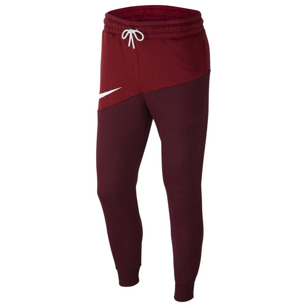 ナイキ Nike メンズ ジョガーパンツ ボトムス・パンツ【Swoosh Pants】Team Red/Night Maroon