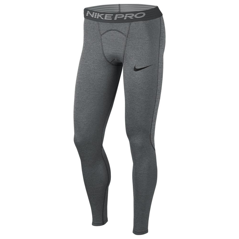 ナイキ Nike メンズ フィットネス・トレーニング タイツ・スパッツ ボトムス・パンツ【Pro Compression Tights】Smoke Grey/Lt Smoke Grey/Black