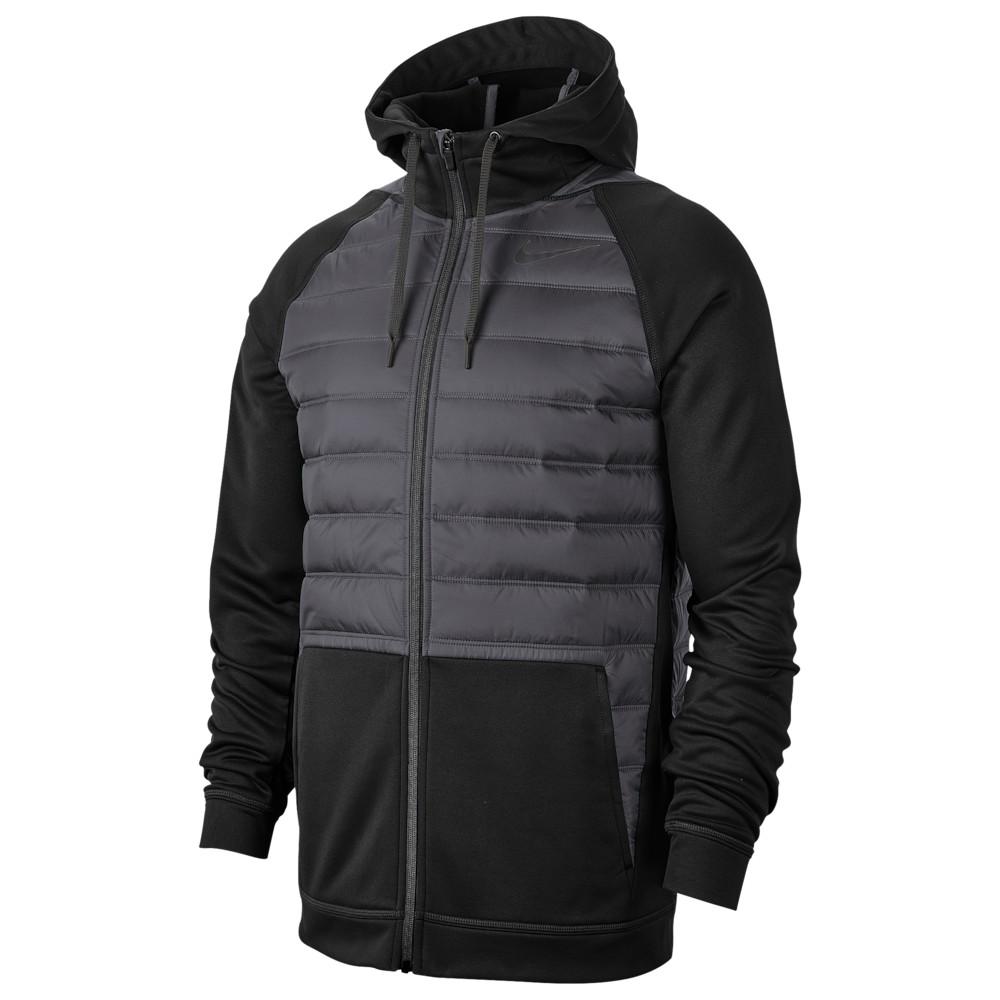 ナイキ Nike メンズ フィットネス・トレーニング ジャケット アウター【Therma F/Z Winterized Jacket】Black/Black/Dark Grey