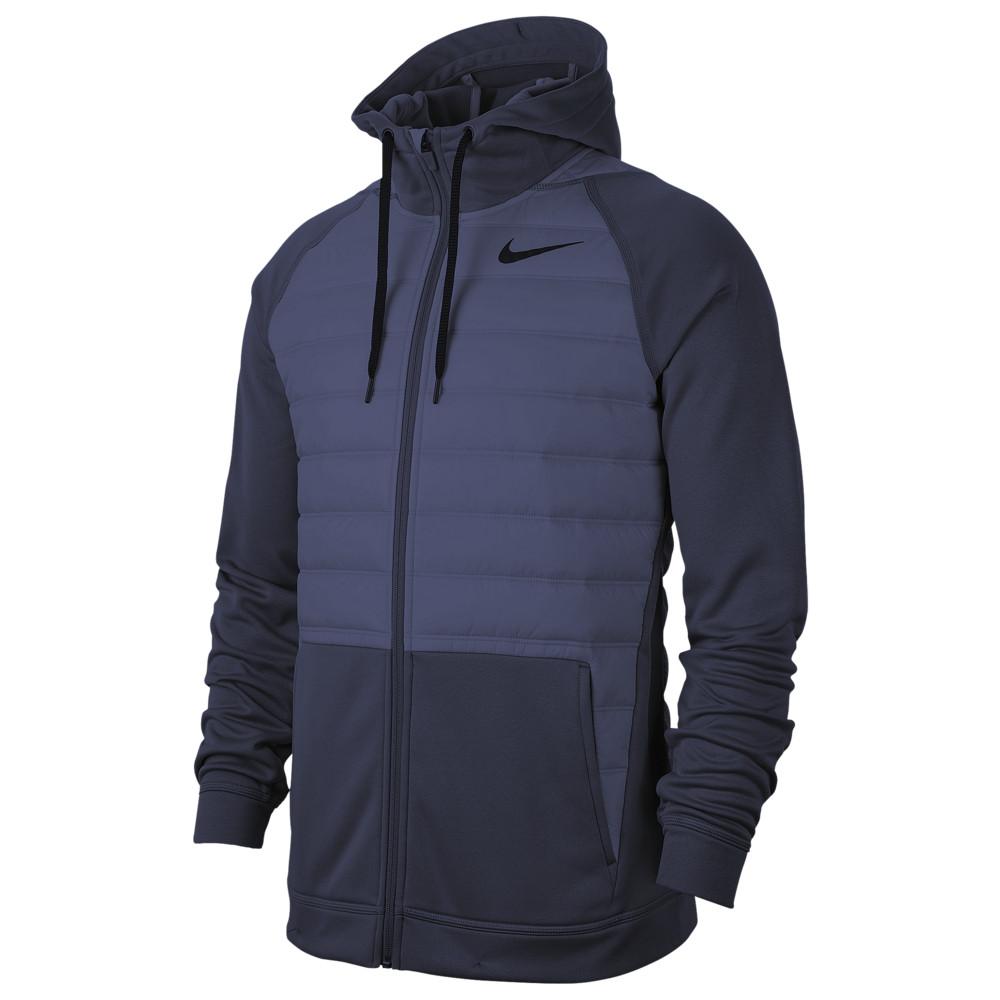 ナイキ Nike メンズ フィットネス・トレーニング ジャケット アウター【Therma F/Z Winterized Jacket】Obsidian/Obsidian/Black