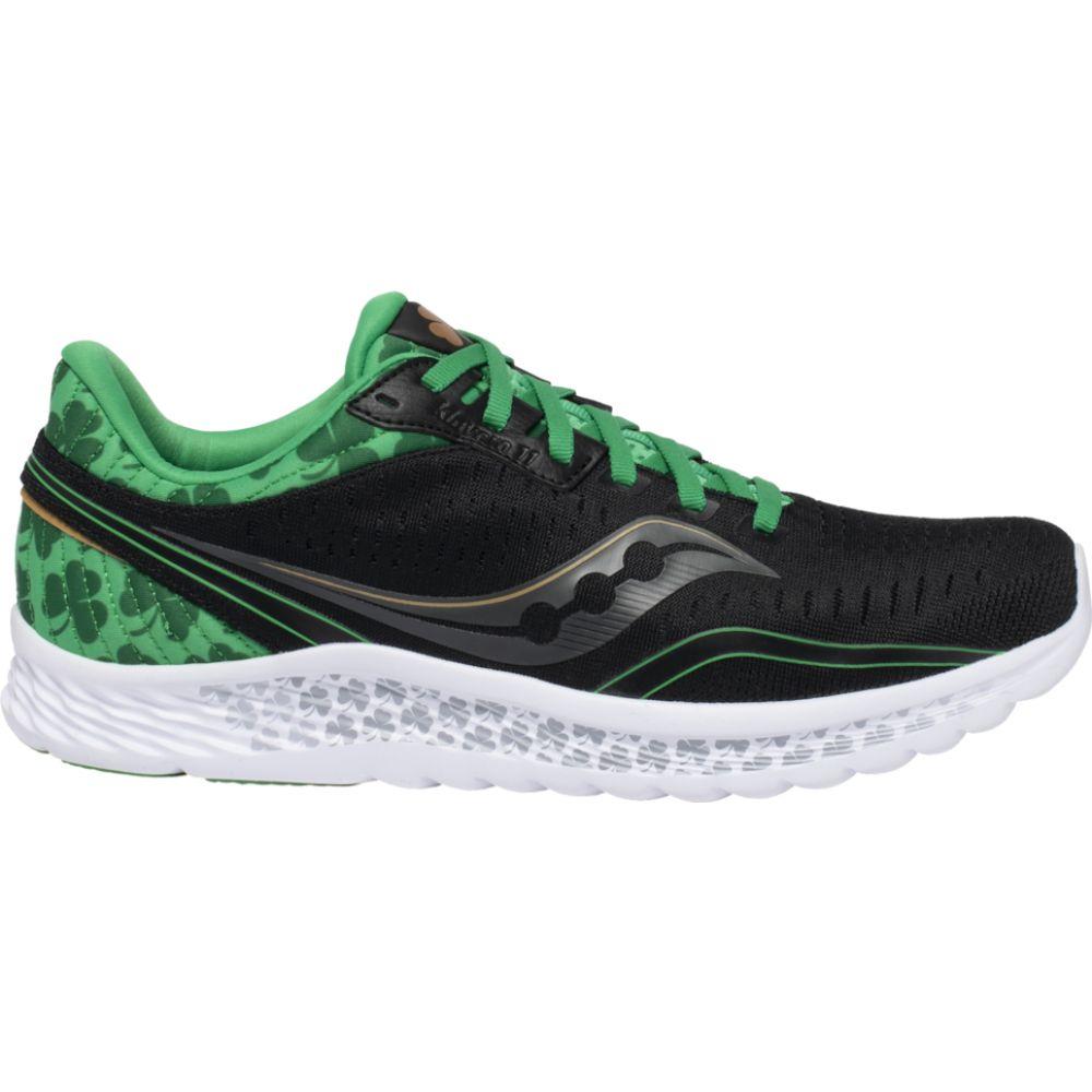 サッカニー Saucony メンズ ランニング・ウォーキング シューズ・靴【Kinvara 11】Black/Green/St. Patrick's Day