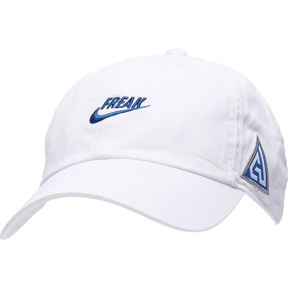 ナイキ Nike メンズ キャップ 帽子【Giannis H86 Freak Hat】Giannis Antetokounmpo/White/Game Royal