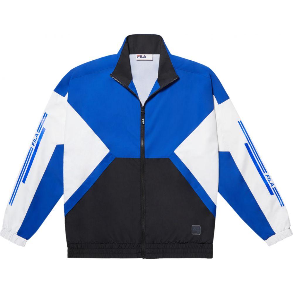 フィラ Fila メンズ ジャージ アウター【X VFILES Oma Track Jacket】Blue/Black