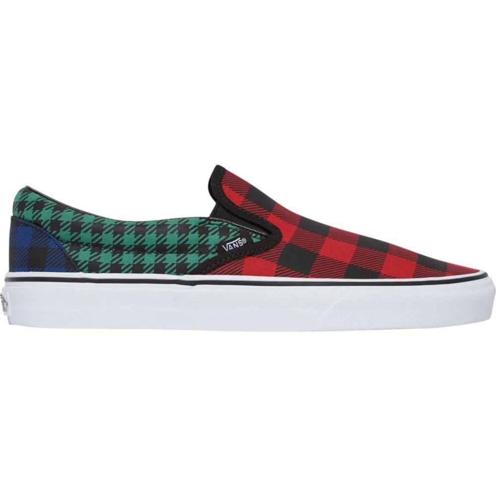 ヴァンズ Vans メンズ スリッポン・フラット シューズ・靴【Classic Slip On】Multi/Plaid/WHAT THE BUFFALO