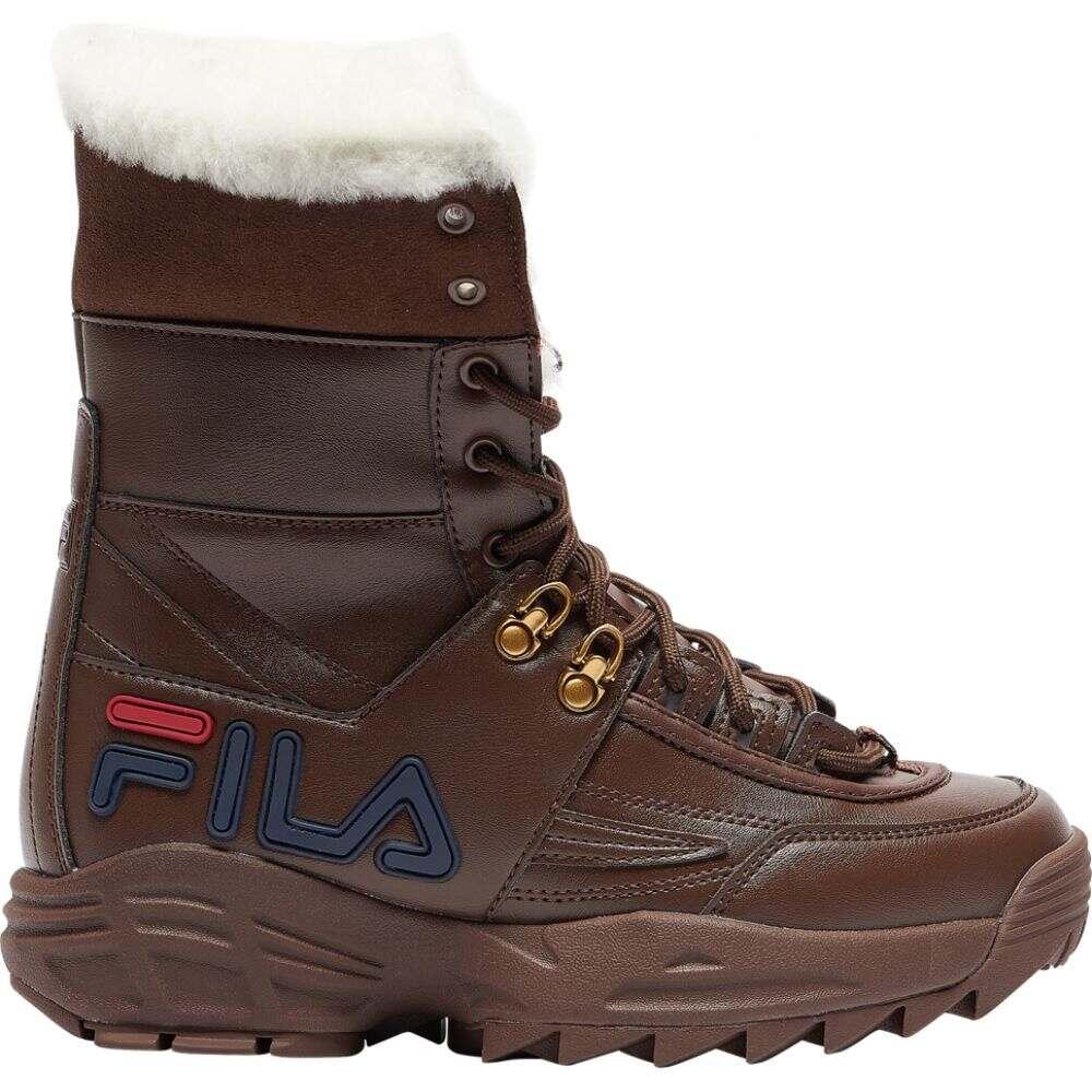 フィラ Fila レディース スニーカー シューズ・靴【Disruptor Boot II】Olive/Green