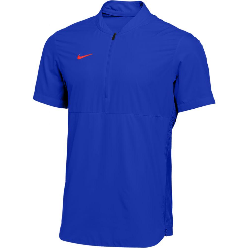 ナイキ Nike メンズ ジャケット アウター【Team Authentic Shield Lightweight Jacket】Game Royal/University Red