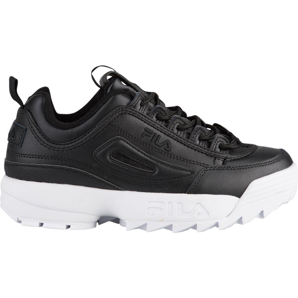 フィラ Fila レディース スニーカー シューズ・靴【Disruptor II Premium】Black/Black/Black