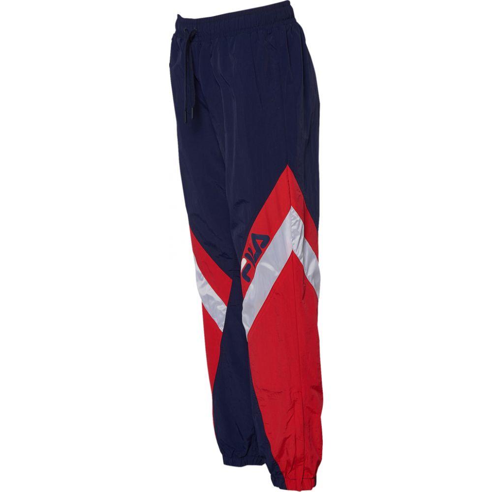 フィラ Fila レディース スウェット・ジャージ ボトムス・パンツ【Doroteia Track Pants】Navy/Red/No Color