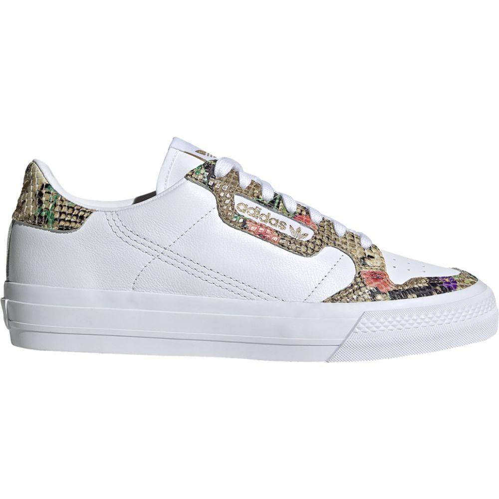 アディダス adidas Originals レディース テニス シューズ・靴【Continental Vulc】White/Scarlet/Gold Metallic/Snakeskin/X-Model