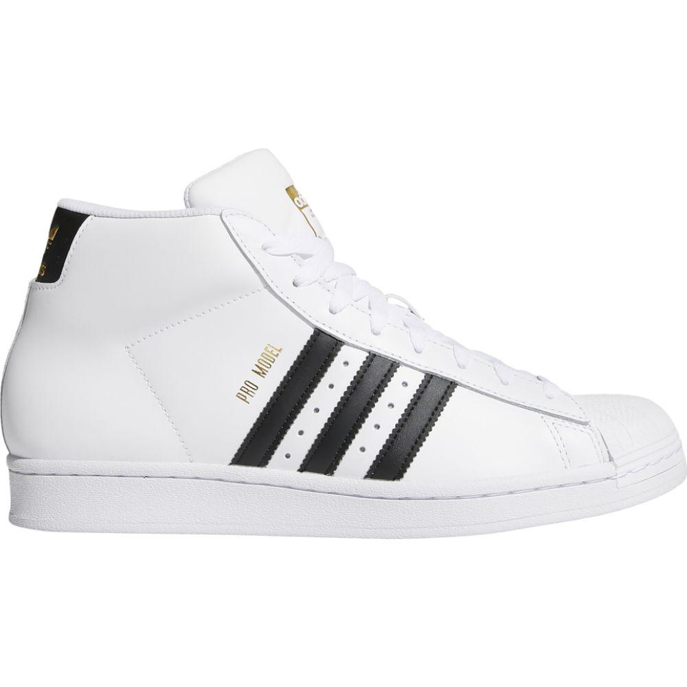 アディダス adidas Originals メンズ スニーカー シューズ・靴【Pro Model】White/Black/White