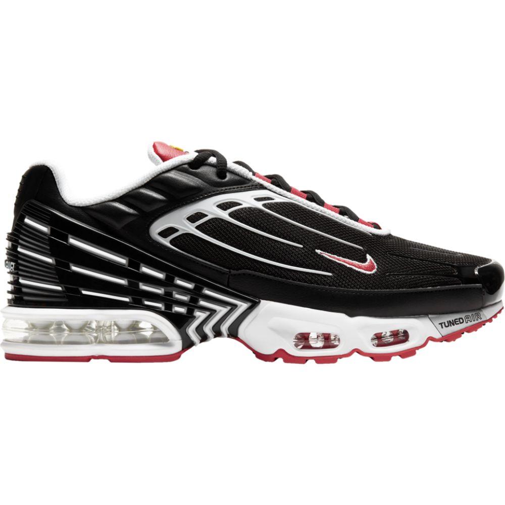 ナイキ Nike メンズ スニーカー エアマックス シューズ・靴【Air Max Plus III】Black/White/Red