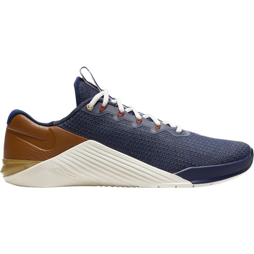 ナイキ Nike メンズ フィットネス・トレーニング シューズ・靴【Metcon 5】Blue Void/Gym Red/Sail/Pollen Rise