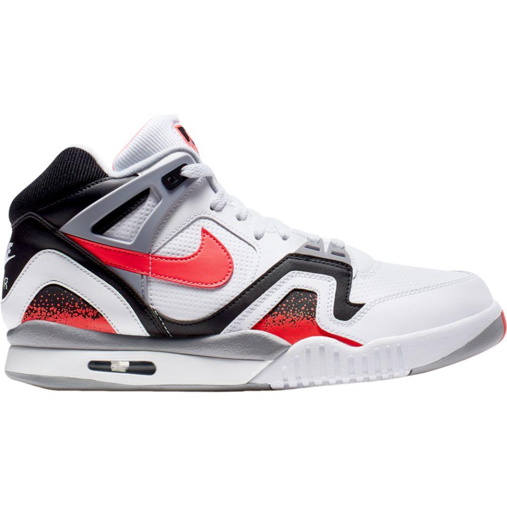 ナイキ Nike メンズ テニス シューズ・靴【Air Tech Challenge II】White/Hot Lava/Black/Flat Silver