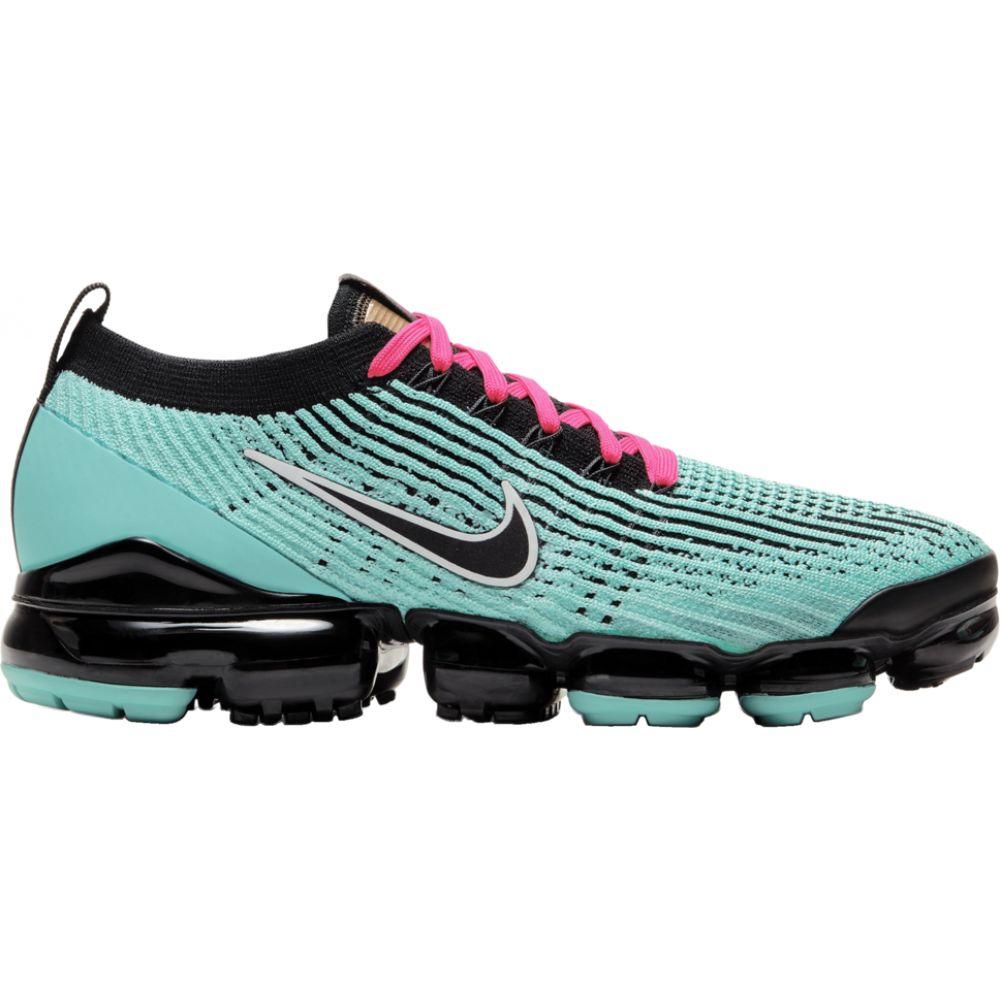 ナイキ Nike メンズ スニーカー シューズ・靴【Air Vapormax Flyknit 3】Hyper Turquoise/Black/Pink Blast/White