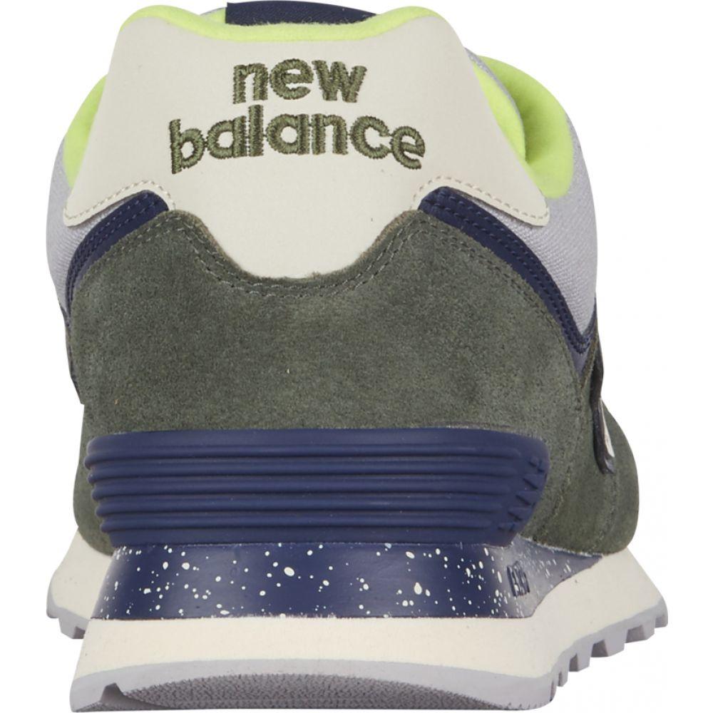 ニューバランス New Balance メンズ スニーカー シューズ・靴 574 Classic Dark Covert Green Smoke Bomb Hi VizL4RqAc35Sj