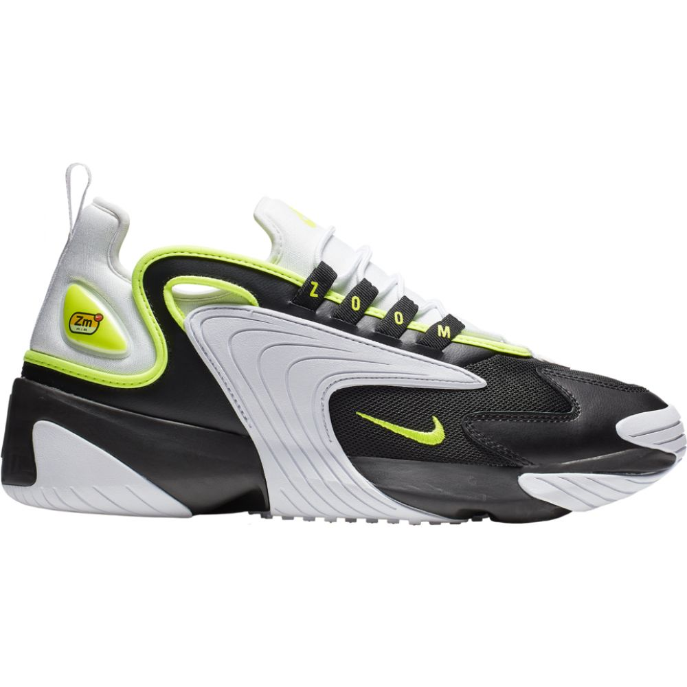 ナイキ Nike メンズ スニーカー シューズ・靴【Zoom 2K】Black/Volt/White