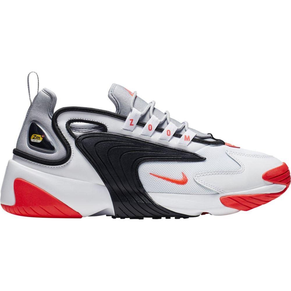 ナイキ Nike メンズ スニーカー シューズ・靴【Zoom 2K】White/Infrared/Wolf Grey/Black