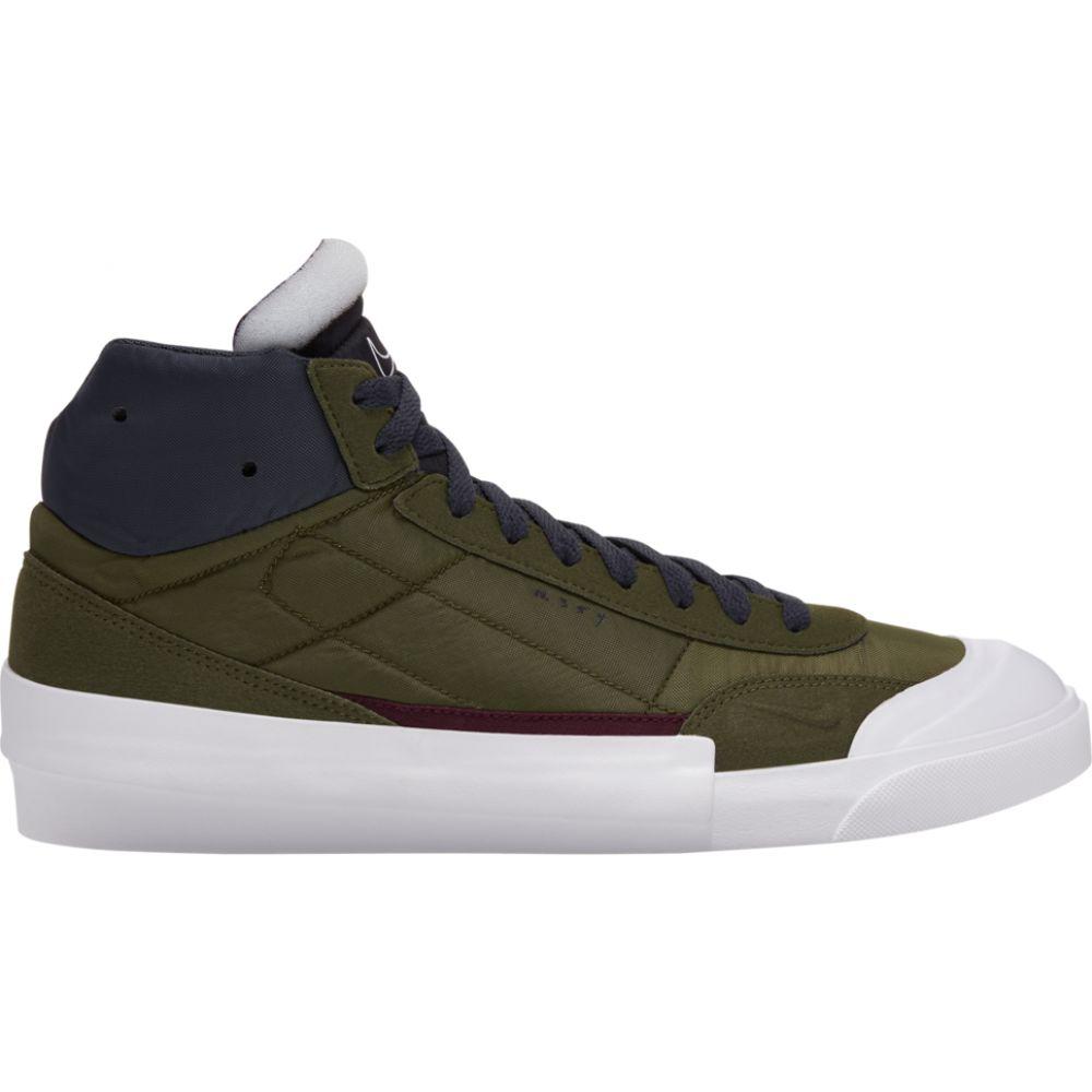 ナイキ Nike メンズ スニーカー シューズ・靴【Drop-Type Mid】White/Green/Anthracite