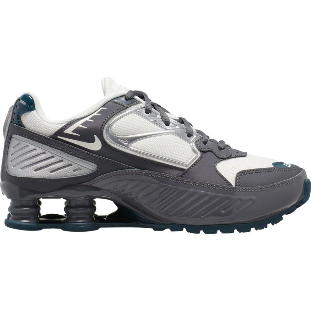 ナイキ Nike レディース スニーカー シューズ・靴【Shox Enigma】Dark Grey/White/Turquoise